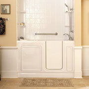 Tub and shower installations and construction - Walk in tub and shower units ...