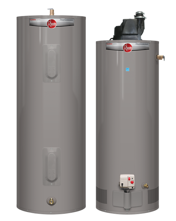 featuring the best selling line of rheem conventional and electric water heaters rated up to 20 more efficient - New Water Heater